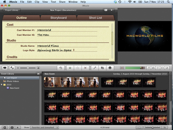 Imovie Tip How To Make Drag And Drop Trailers Features