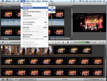 iMovie Tip: How to add one-step effects - Features - Digital
