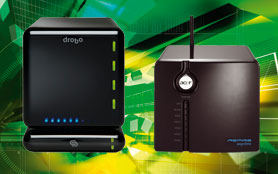 Network-attached storage devices