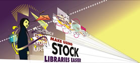 Make using stock libraries easier