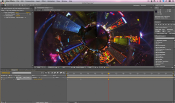 Create a mini-planet using Photoshop and After Effects
