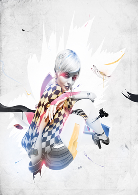 Create fashion-inspired photo illustrations