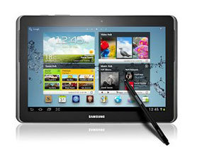 First look: Samsung Galaxy Note 10.1 tablet with pressure-sensitivity & Adobe Photoshop Touch app
