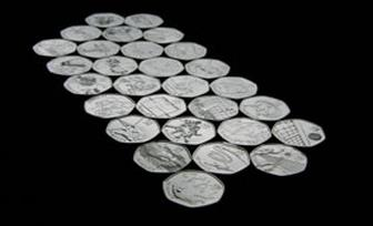 50p coins redesigned for 2012 Olympics