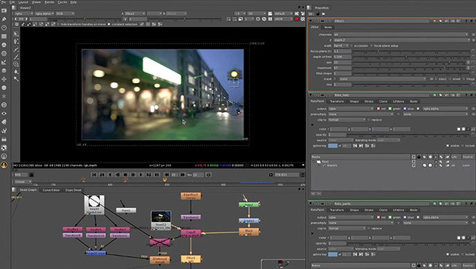 The Foundry Releases Nuke 7 0 Vfx Compositing Software News Digital Arts
