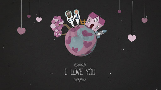 Proposal infographic animated into a short film that will warm your heart