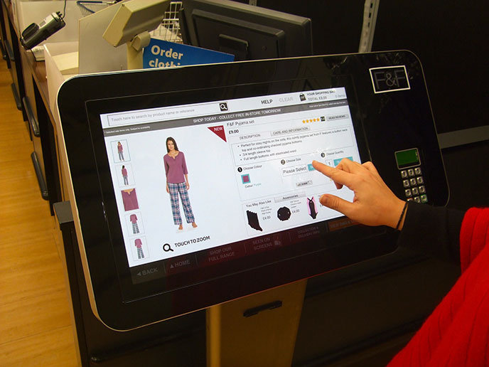 Tesco Trials 39 Magic Mirrors 39 And Digital Mannequins To