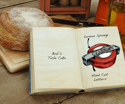How Tom Hovey draws mouthwatering cakes for The Great British Bake Off