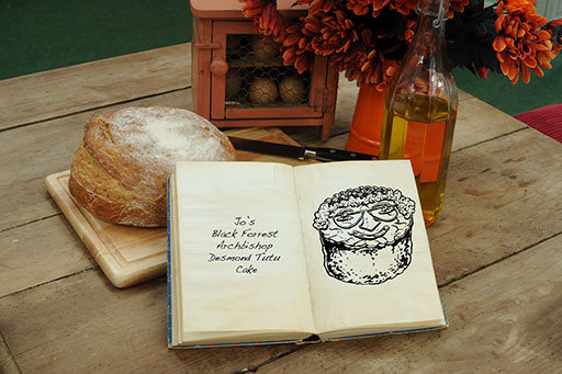 How Tom Hovey draws mouthwatering cakes for The Great
