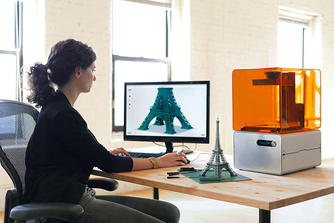 Formlabs Form 1 3d Printer Uses Lasers To Create More