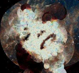 Artist creates generative portraits using images from Hubble Space Telescope