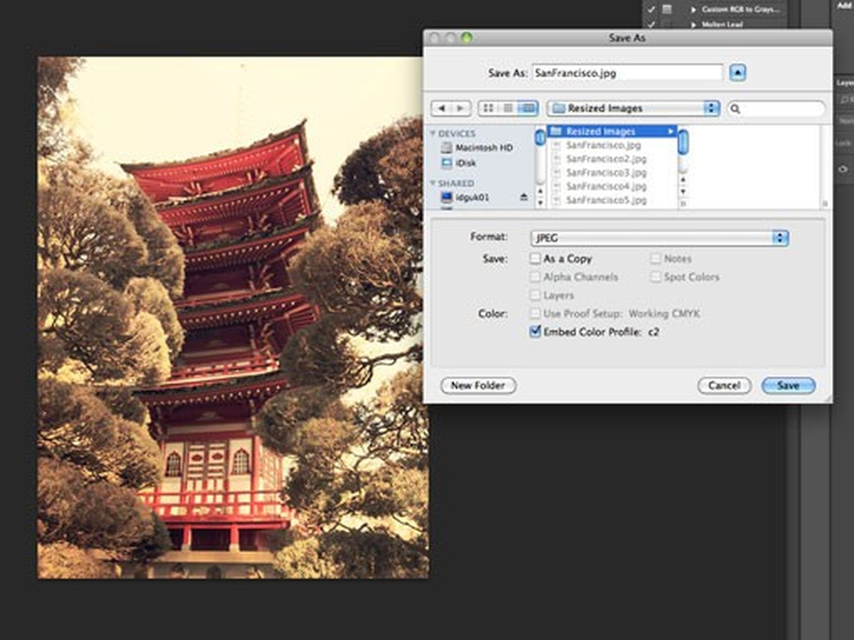 How to batch resize images in Photoshop - Tutorials