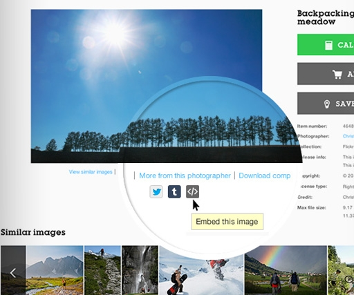 Getty's new Embed tool makes millions of photos free to use