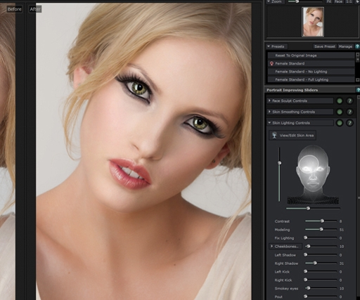 PortraitPro 12 launches with new light, skin & slimming features