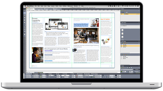 Technology Management Image: QuarkXPress 2015 Released: The DTP Tool Gets A Speed Boost