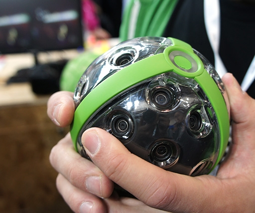 Ball-shaped panorama camera almost ready to ship
