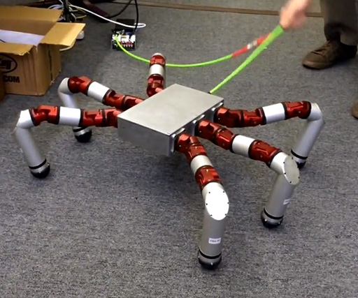 Spider robot is both creepy and amazing