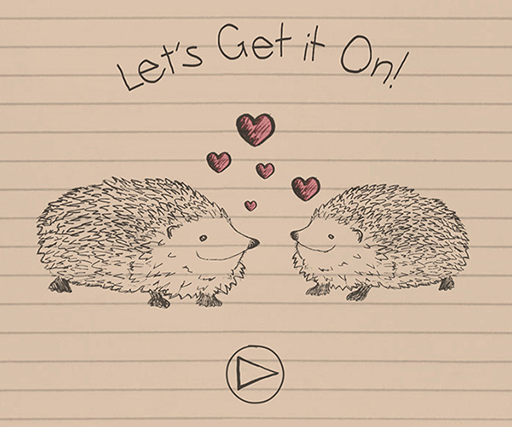 Watch Rushes', er, romantic animated animal-sex Valentines Day video