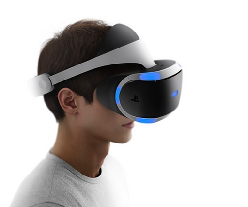 Sony has updated its Morpheus VR headset for the PS4 with a bigger, faster screen
