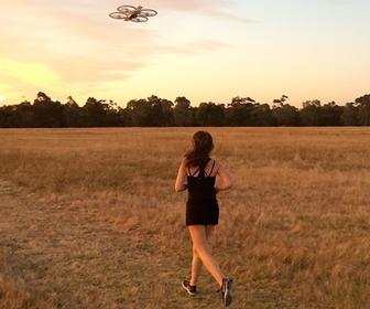 CHI 2015: Not motivated to jog? A drone can help
