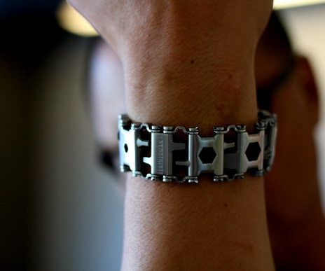 The Leatherman Tread is a bracelet that's also a 'swiss army knife'