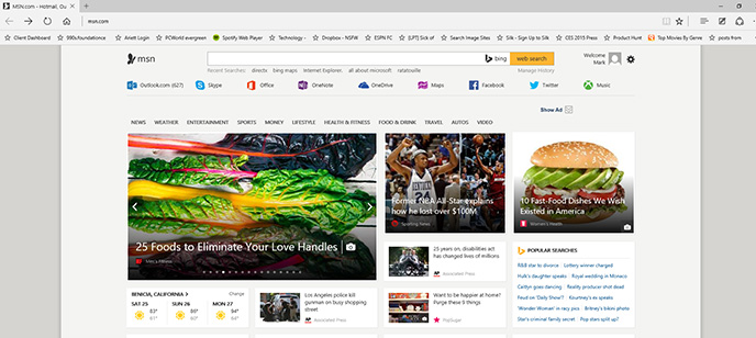 Inside Microsoft Edge, Windows 10's new browser - Features