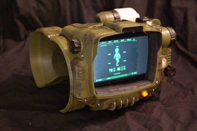 how to 3d print a real pip boy from fallout 4 news digital arts
