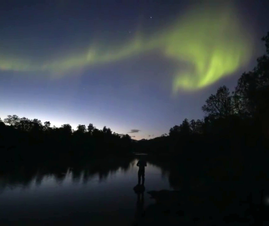 Watch this beautiful footage of the Aurora Borealis shot on Canon's new low-light camera