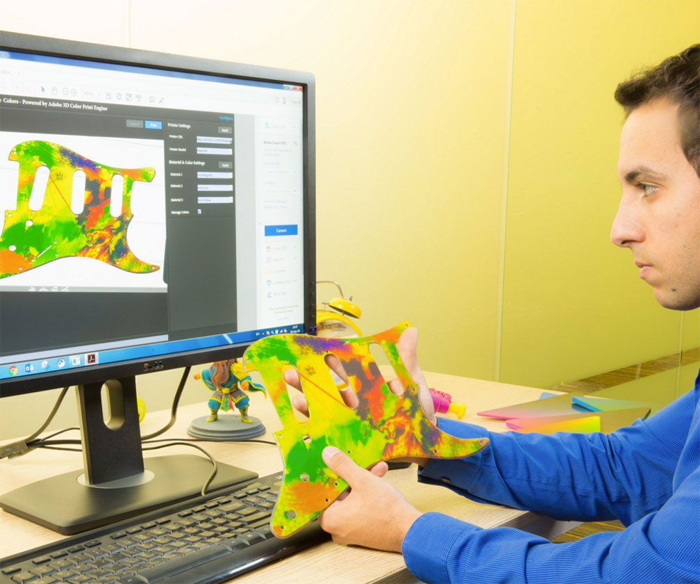 You can now 3D print in multi-colour via Photoshop