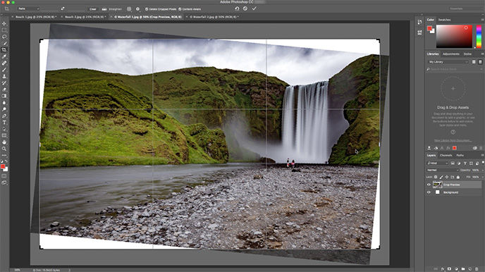 New Photoshop features: Adobe debuts Content Aware Crop for