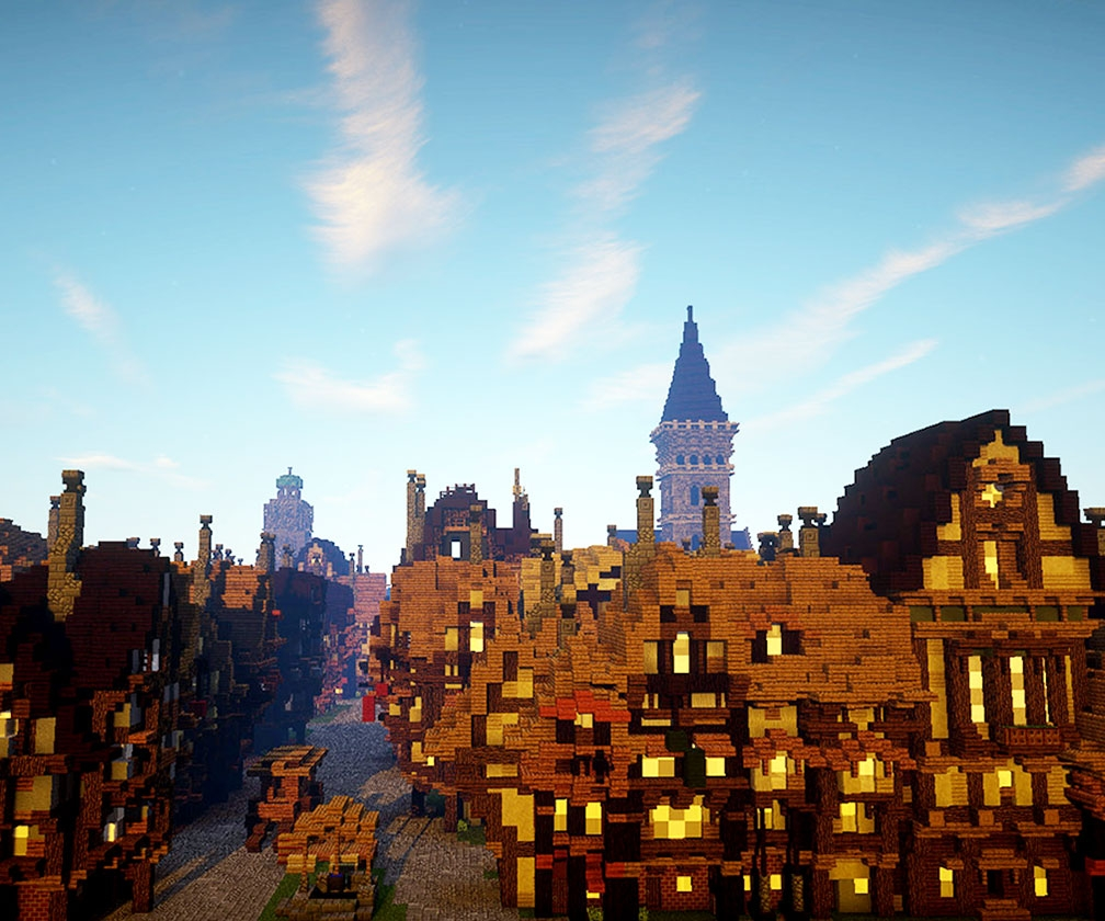 This Minecraft map lets kids rebuild London after the Great Fire of 1666 (and learn about history while they do it)