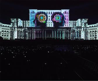 Watch this mesmerising 3D projection-mapped spectacle from Romania
