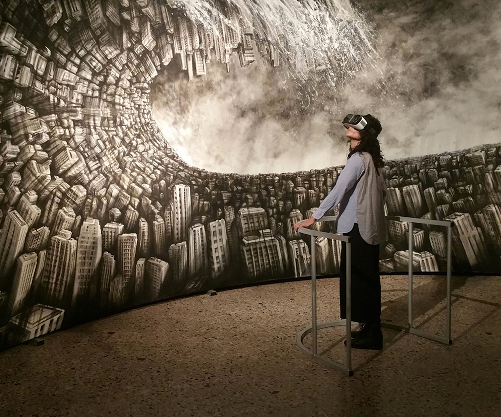 Italian duo craft surreal canvas cityscape into a VR masterpiece