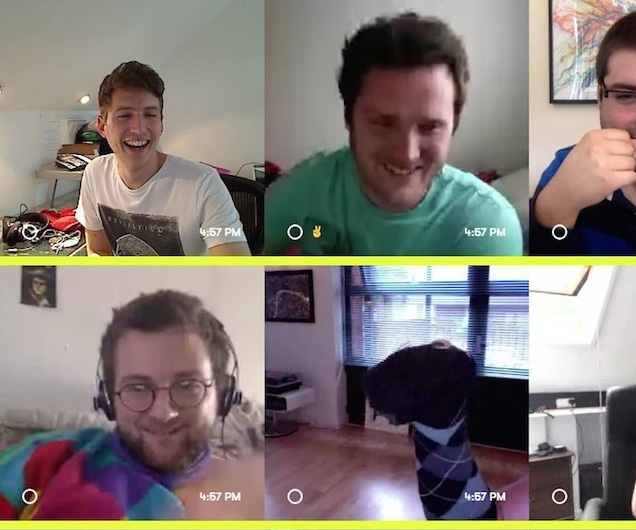 How to have all-day video chat sessions that don't make everyone feel weird
