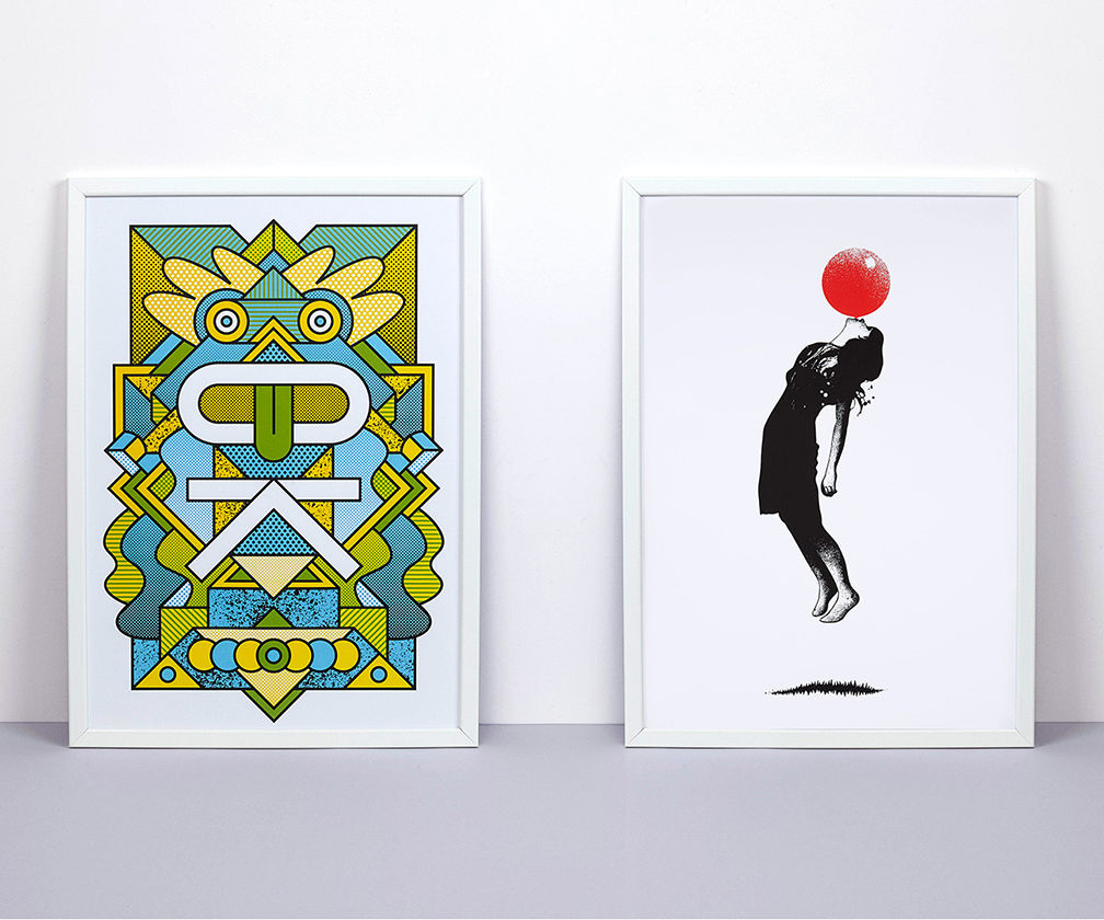 Supermundane, Eelus & more collaborate with The Private Press on screen print collection
