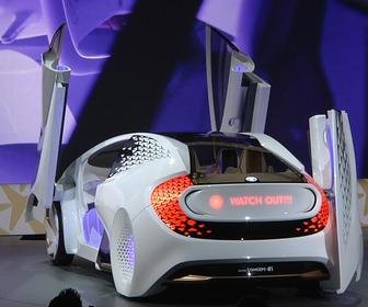 How Toyota has humanised how you interact with its Concept-i autonomous car