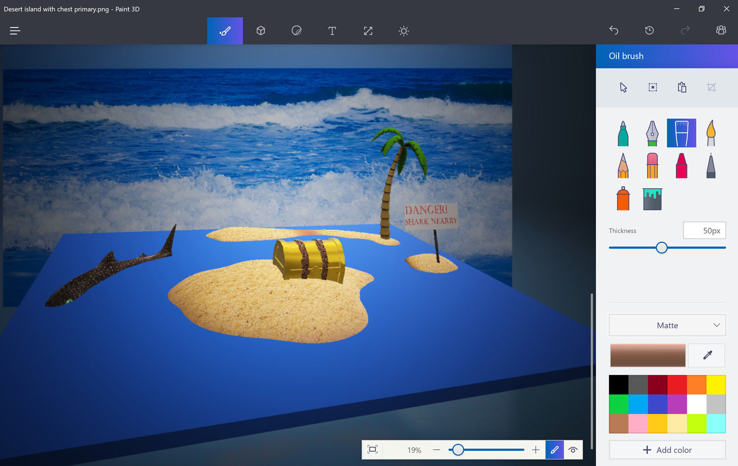 How to use microsoft paint 3d the new version of the 3d drawing website