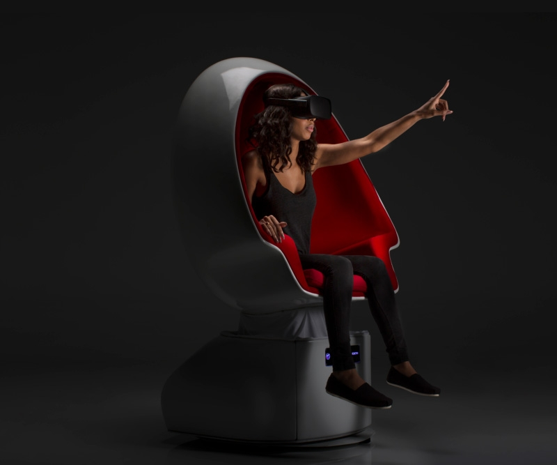 Positron's Voyager is a full-motion chair for VR cinema