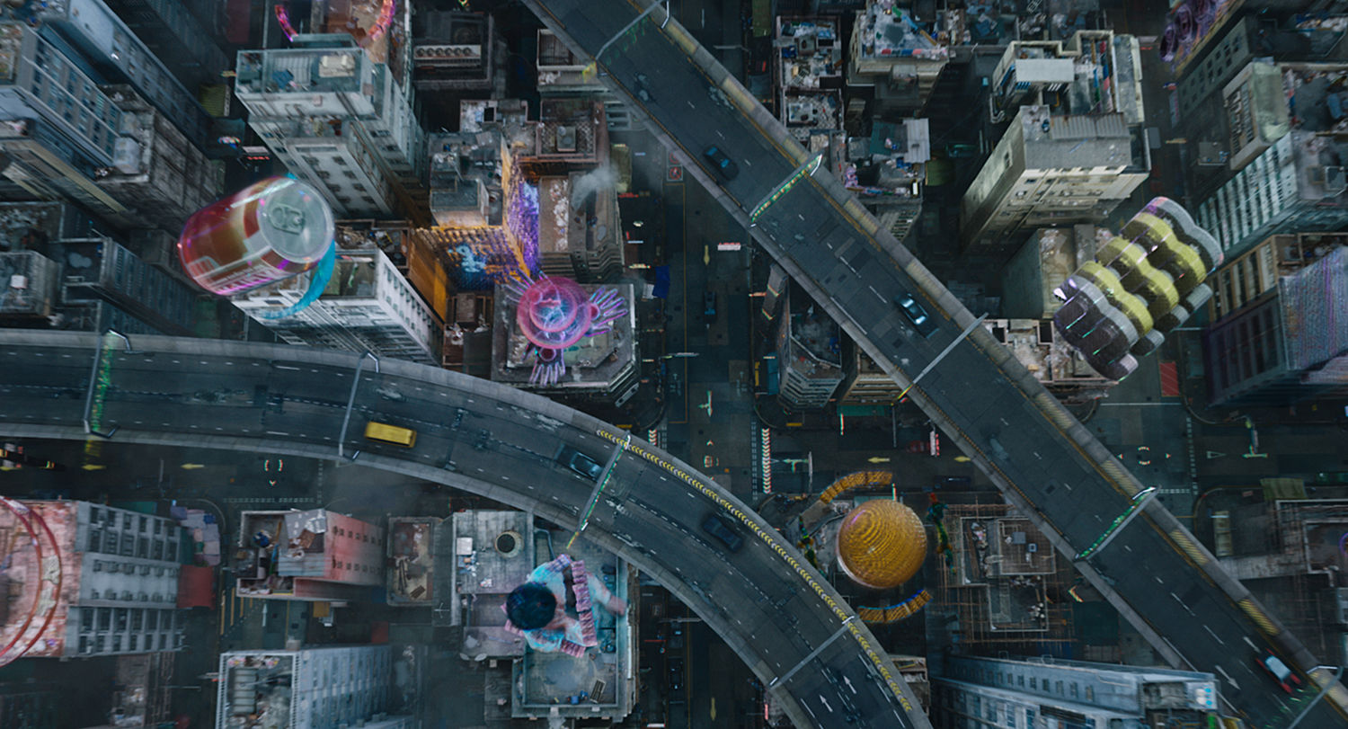 Territory On Creating The Futuristic 3d Cityscape For Ghost In The Shell Features Digital Arts