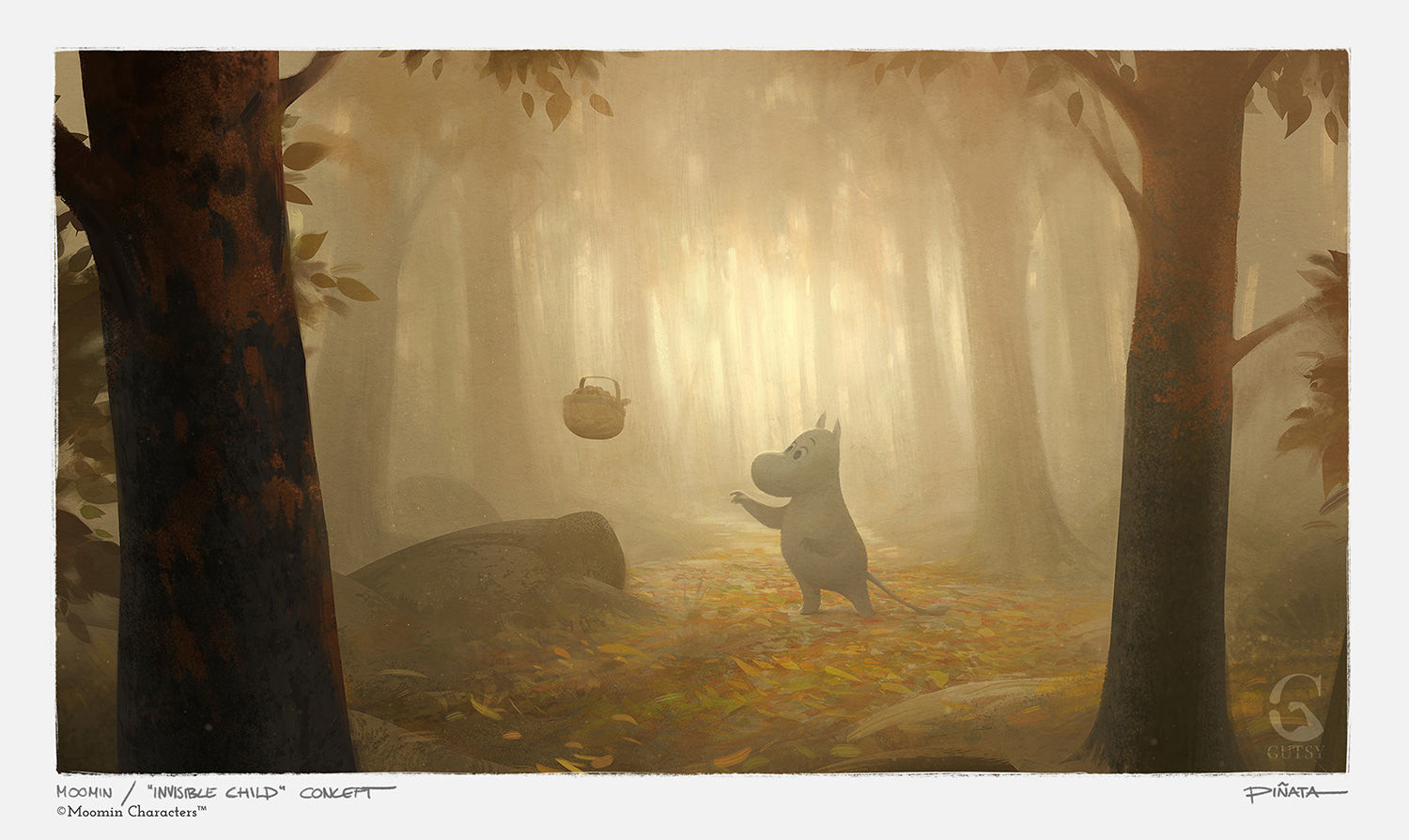 See beautiful concept art for the new Moomin animated TV show
