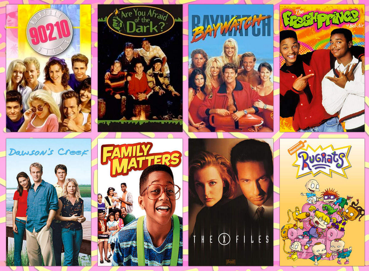 Where to download the typefaces of iconic 90s TV show logos