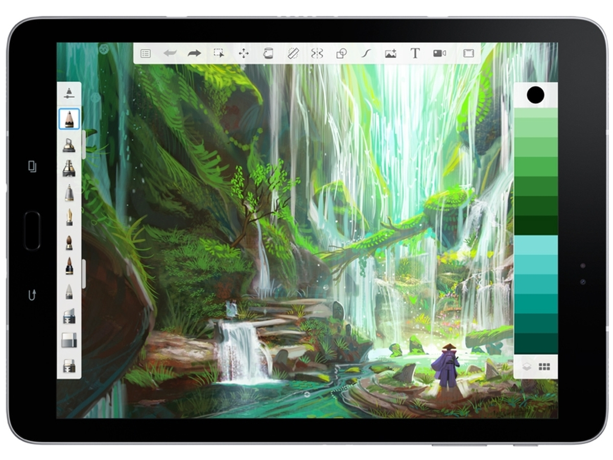 New features of Autodesk's SketchBook 4 0 are now available for