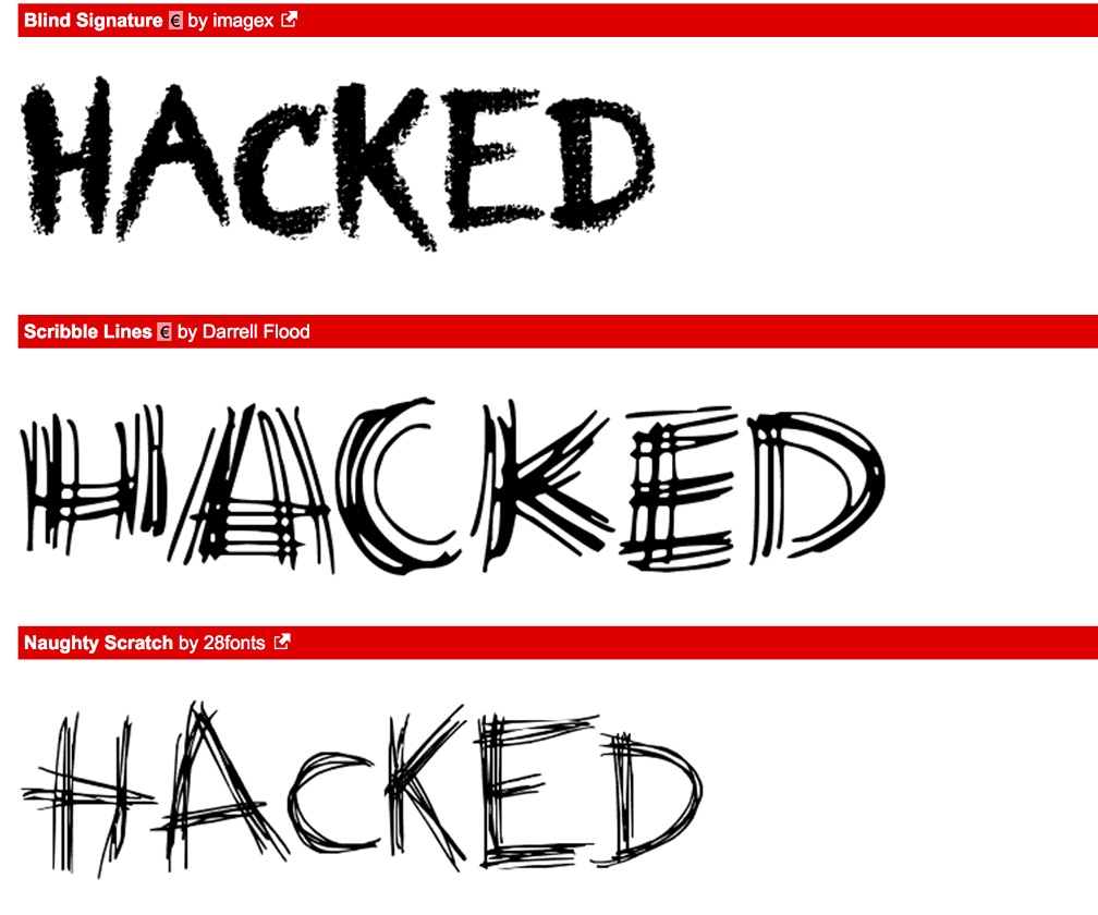 DaFont hacked: accounts and passwords stolen