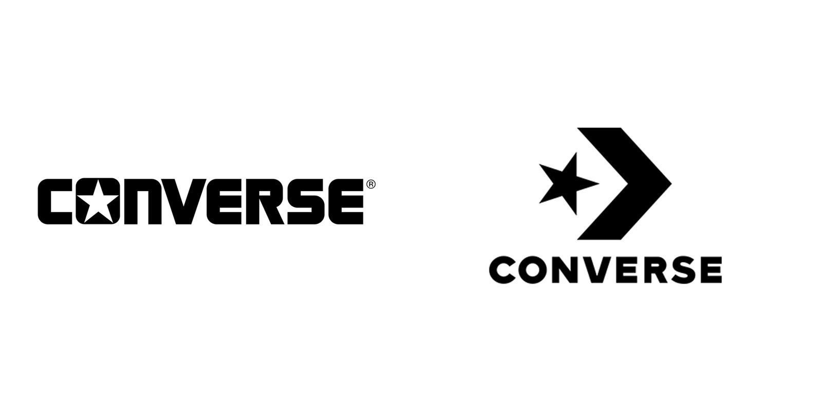 Converse s new logo  the trainer brand looks to its heritage for a fresh  identity ac9cd83a8f84