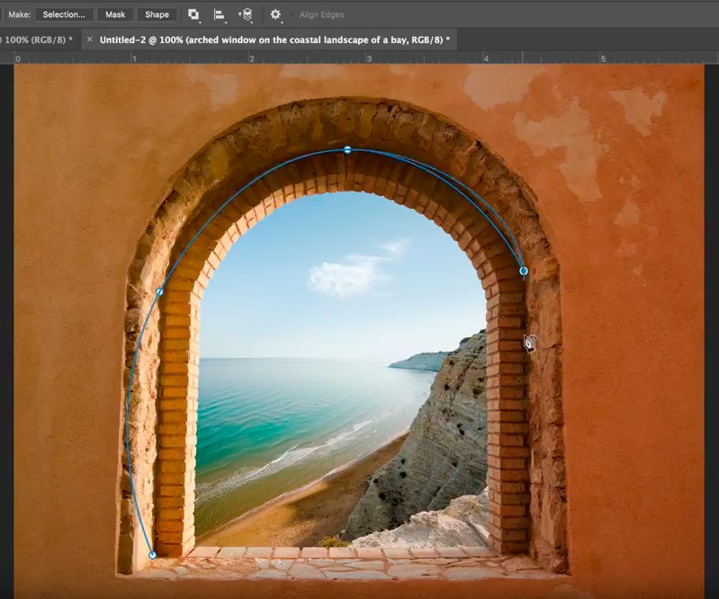 One of Photoshop's new tools has been revealed – the Curvature Pen tool