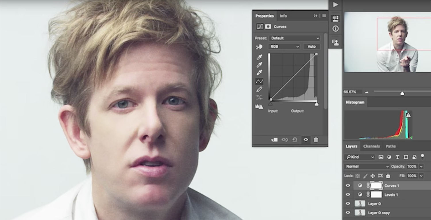 Watch Spoon's frontman get Photoshopped in slightly creepy music video