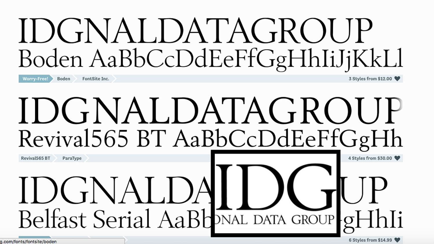 How to find a font: Discover the name of a typeface you want