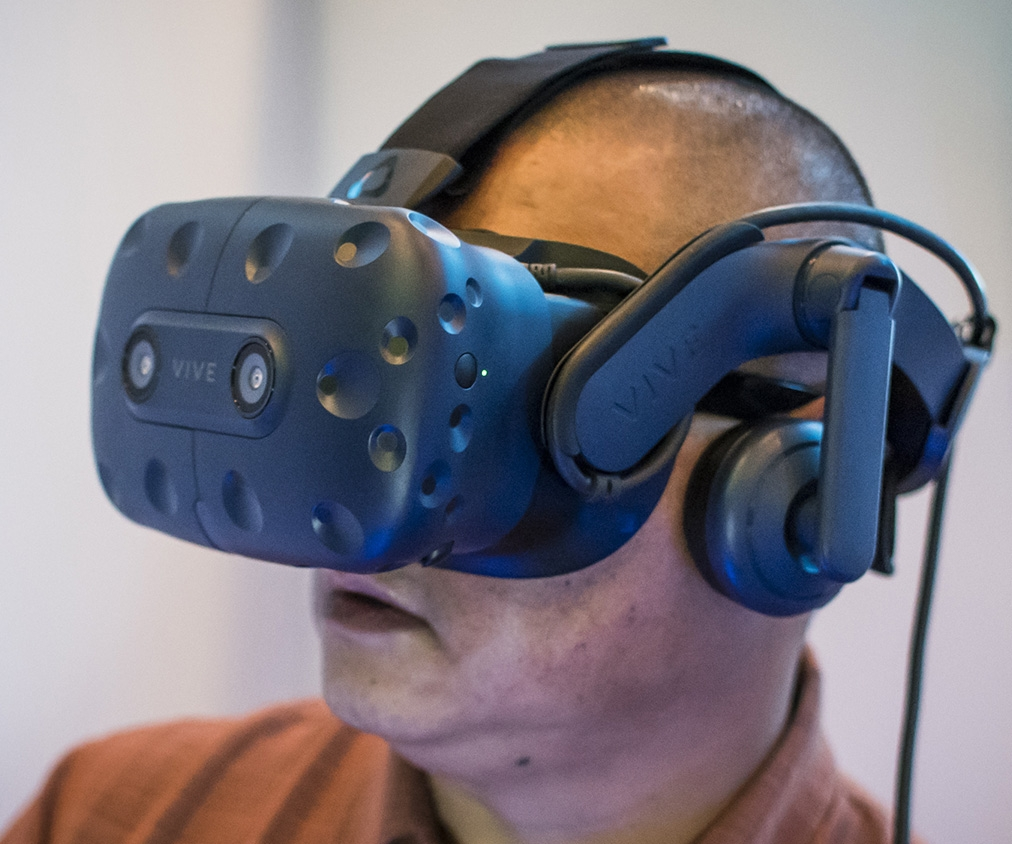 Hands-on with the HTC Vive Pro