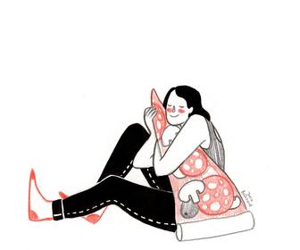 Illustrator of witty, relatable Instagram comics Julia Bernhard touches on our humble moments