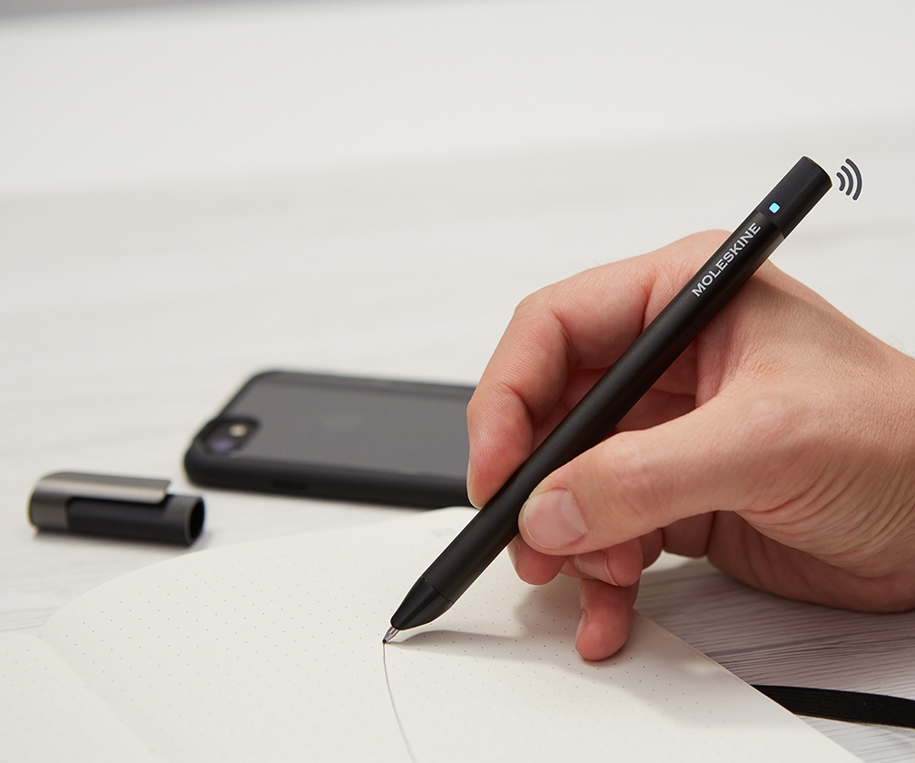 No need to scan sketches into your computer with Moleskine's new smart pen